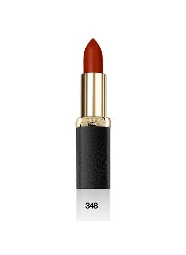 L'Oréal Paris L'Oréal Paris Color Riche Matte Addiction Ruj 348 Brick Vintage Kırmızı